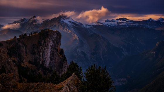 Miradores hacia el Valle de Ordesa