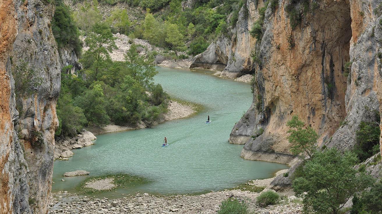 Paddle Pirineo Aragones Entremon