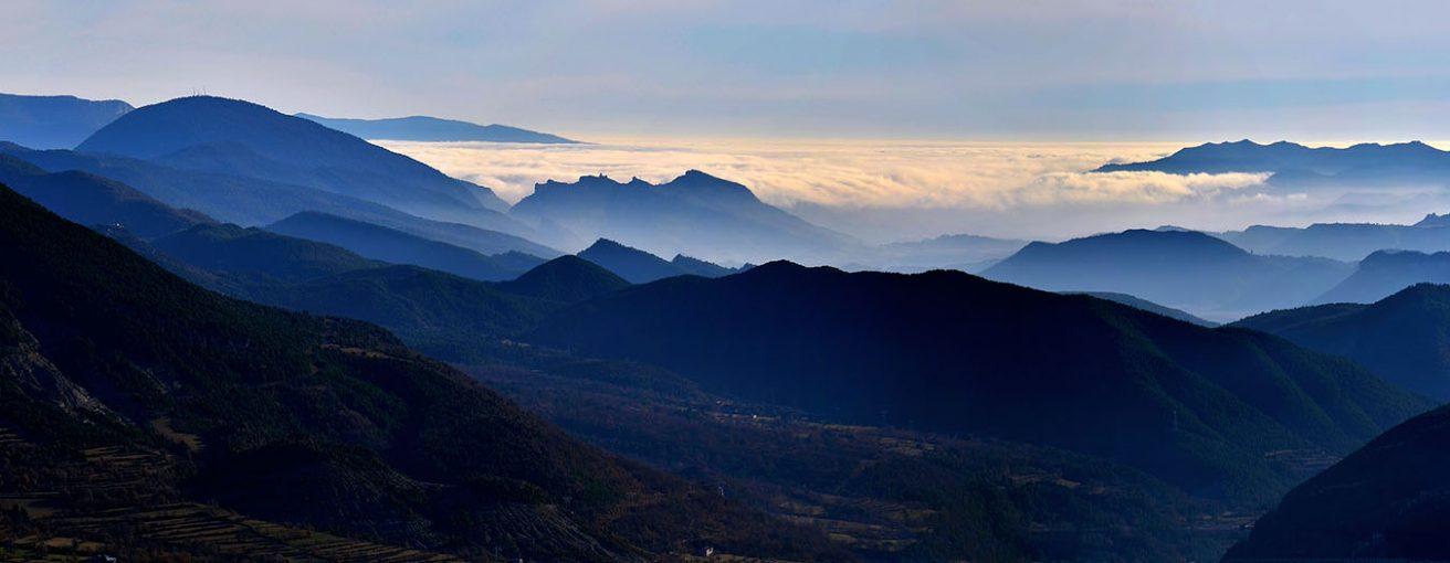 Panoramica Sobrarbe Pririneos