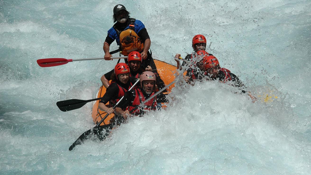 Rafting Pirineos Rio Ara Torla