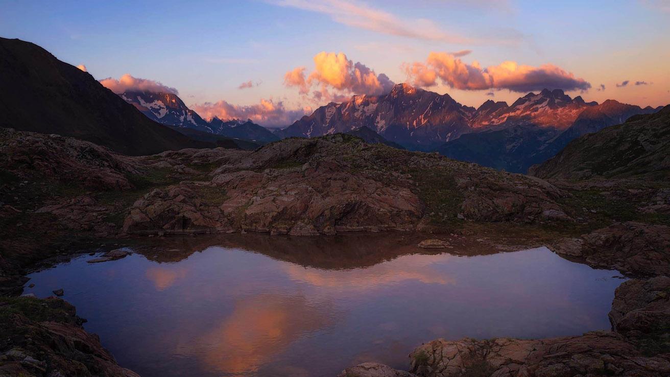 Senderismo Pirineos Lago de Urdecito