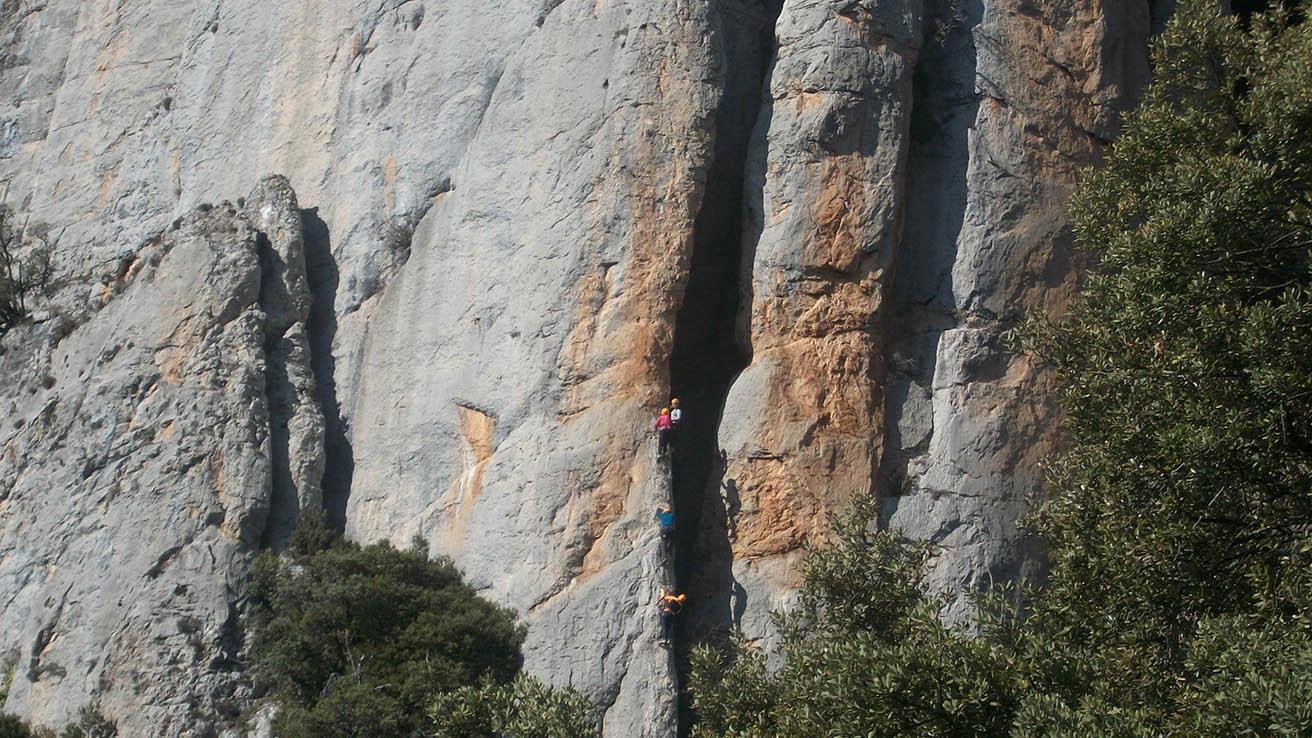 Via Ferrata Pirineo Aragones Foradada Spain
