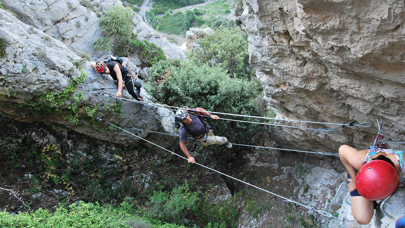 Via Ferrata Pirineos Foradada