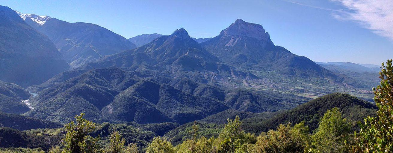 Vista de Pena Montanesa Pirineos