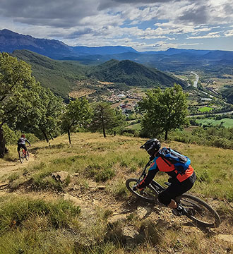 bicicleta pirineos