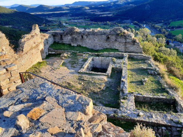 Visitar Castillo de Boltaña en Sobrarbe