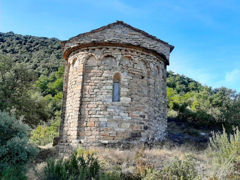Ábside de la ermita