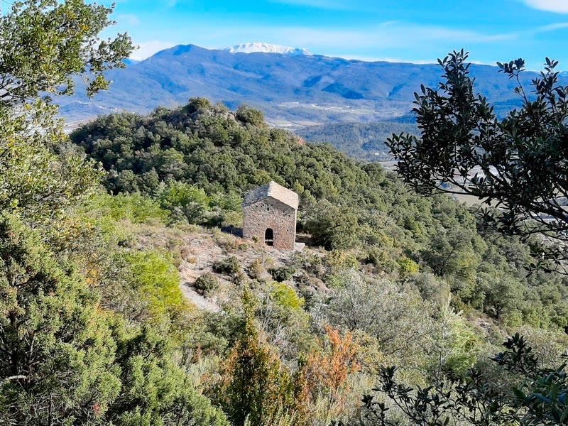 Ermita de San Clemente vista desde lejos