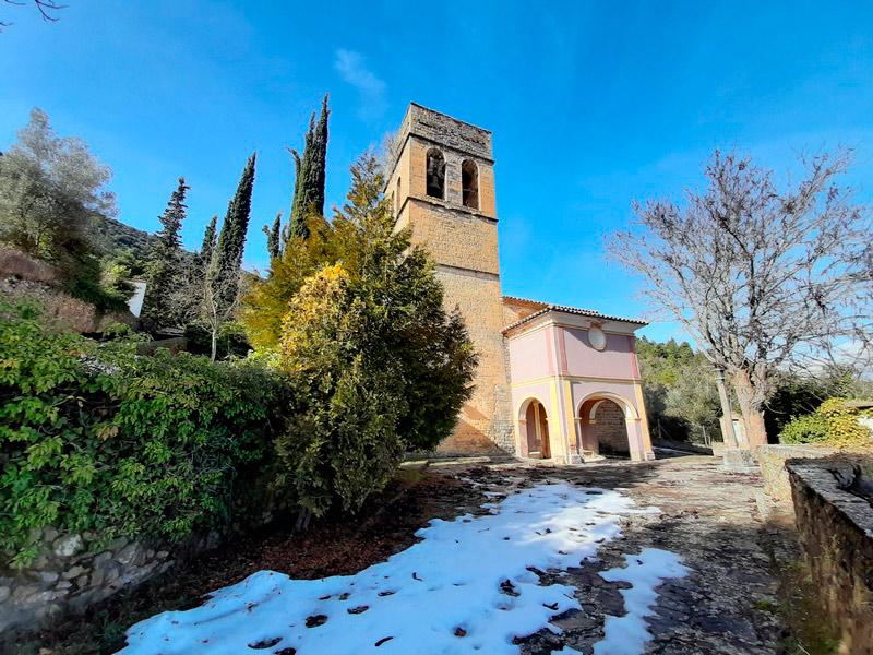 Vista de la Iglesia de Palo