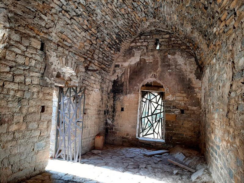 Interior de la ermita de San Clemente